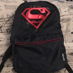 Superman Flip Pak Reversible Backpack